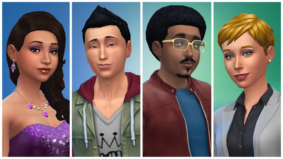 The Sims 4 is Coming to PS4! Out November 17