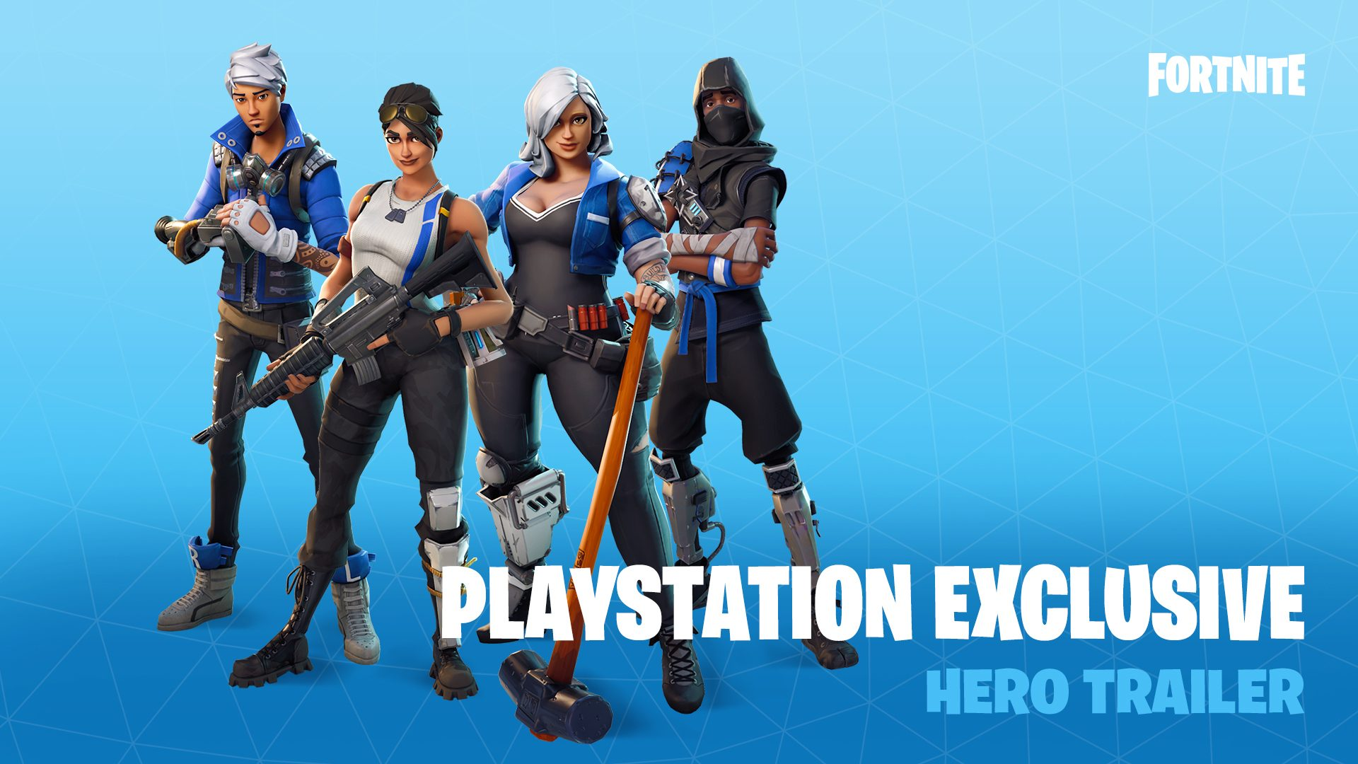 fortnite is here with exclusive ps4 heroes playstation blog exclusive ps4 heroes playstation