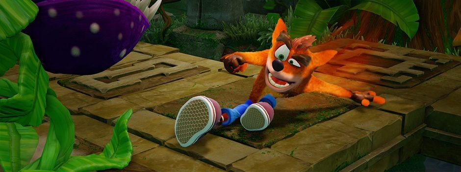 Crash Bandicoot N. Sane Trilogy was PlayStation Store's June bestseller