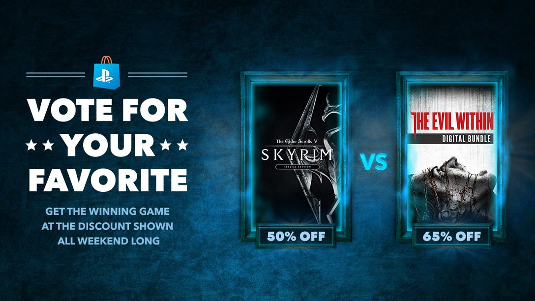 Vote for your Favorite: The Elder Scrolls V: Skyrim vs. The Evil Within