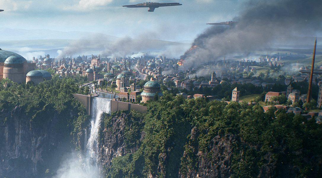 Star Wars Battlefront II's open beta blasts onto PS4 early October