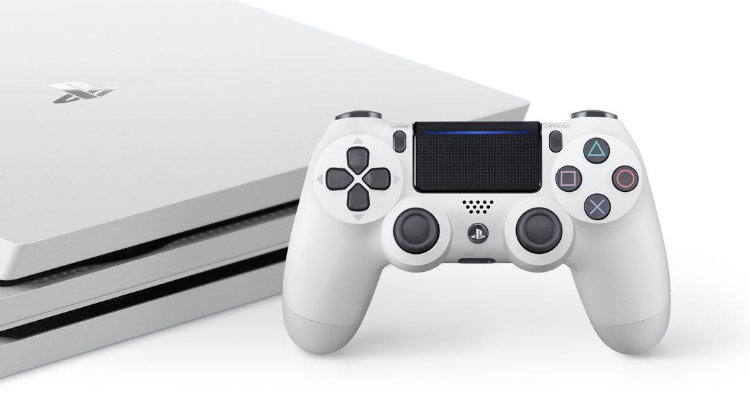 Introducing the new Glacier White PS4 Pro Destiny 2 bundle
