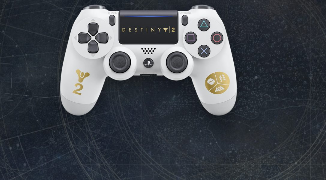 Limited edition Destiny 2 Dualshock 4 controller, new PS4 bundles announced