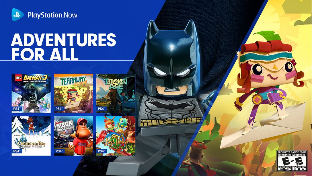 New PS4 Games on PS Now: LEGO Batman 3, Tearaway Unfolded, More