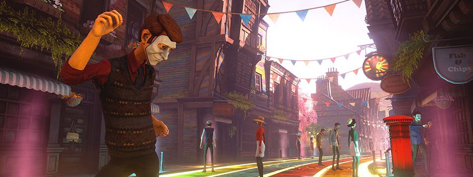 Complusion's twisted survival horror We Happy Few comes to PS4 on 13th April 2018