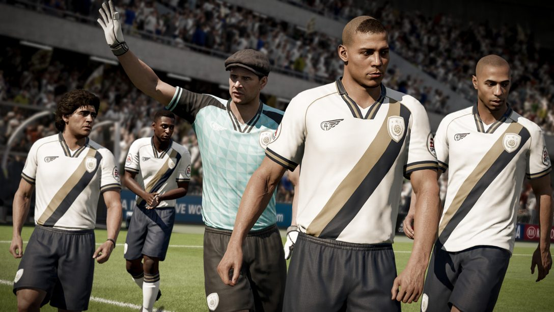 Iconic Football Legends Coming to FIFA 18 Ultimate Team on PS4