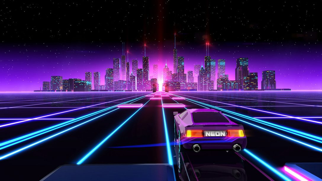 Neon Drive Launches August 8 on PS4