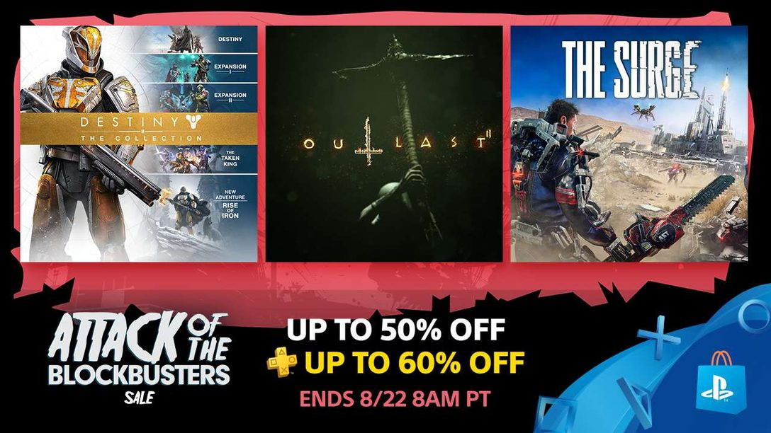 Blockbuster Sale: Save Up to 50% at PS Store