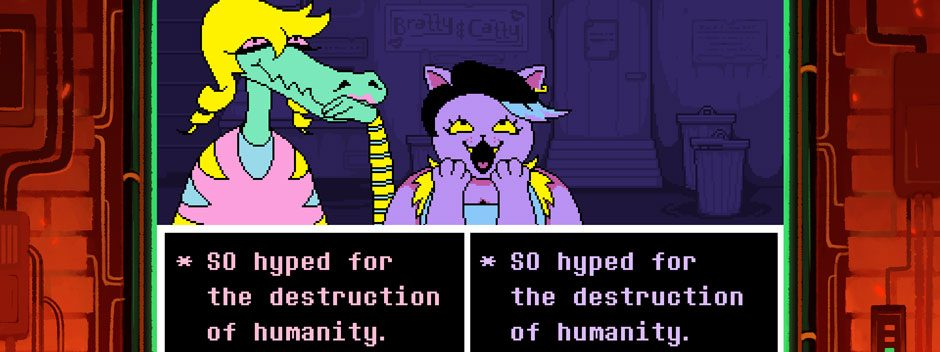 The story behind PS4 & PS Vita's post-modern RPG Undertale, out next week