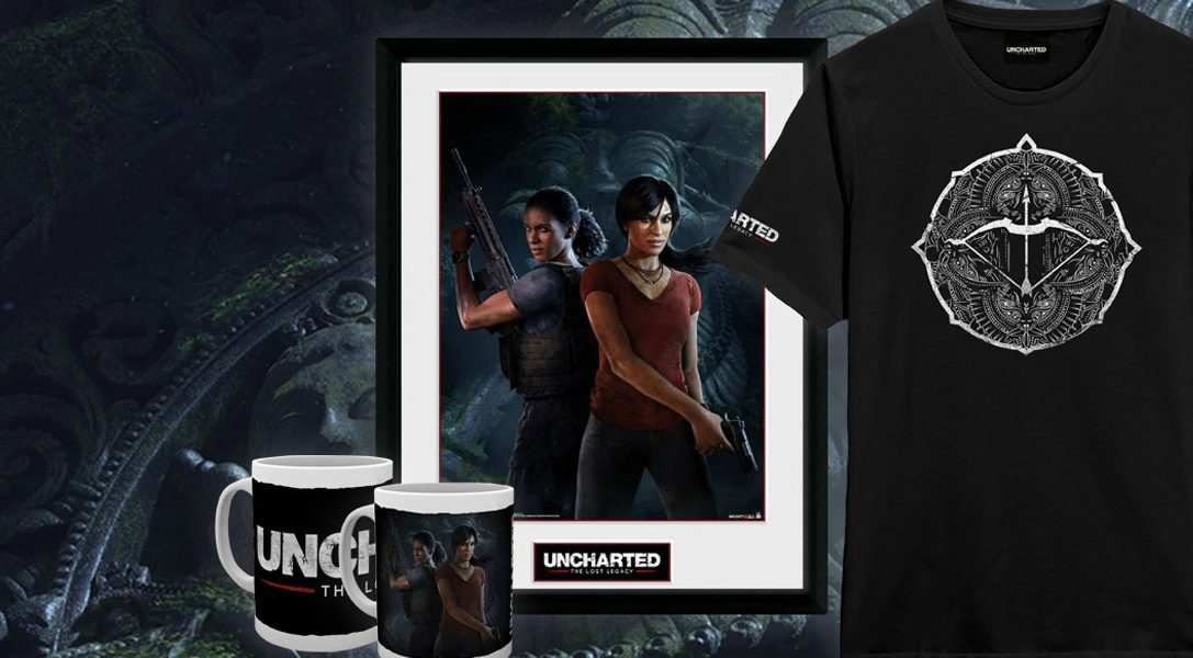 New Uncharted: The Lost Legacy merch comes to PlayStation Gear