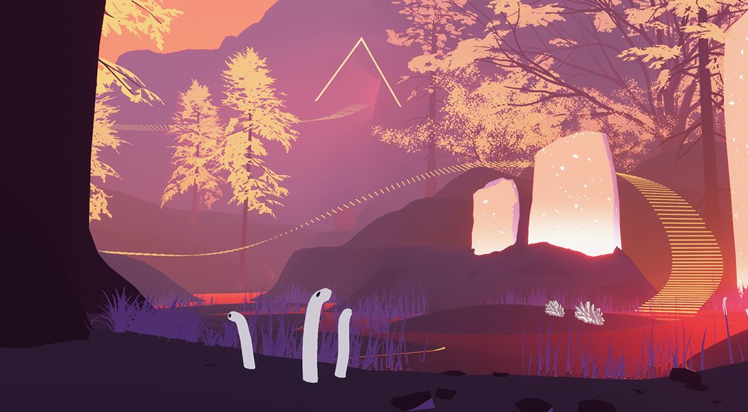 Explore the secrets of beautifully abstract adventure Shape of the World, coming to PS4 early 2018