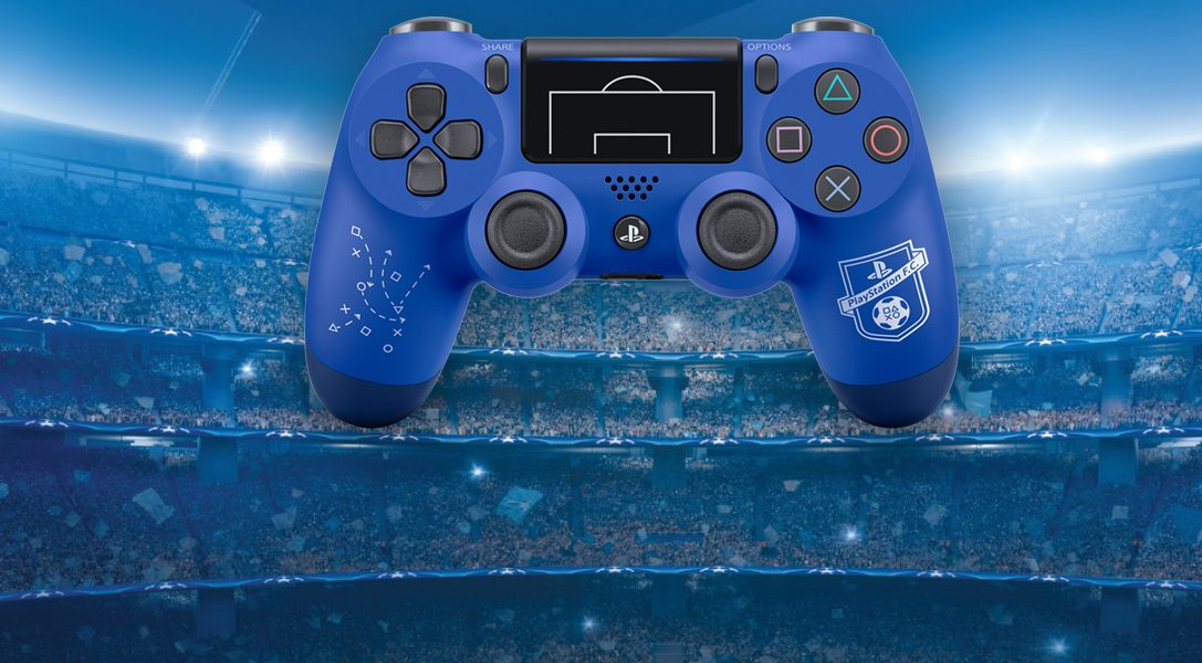 New Limited Edition PlayStation F.C. Dualshock 4 wireless controller announced