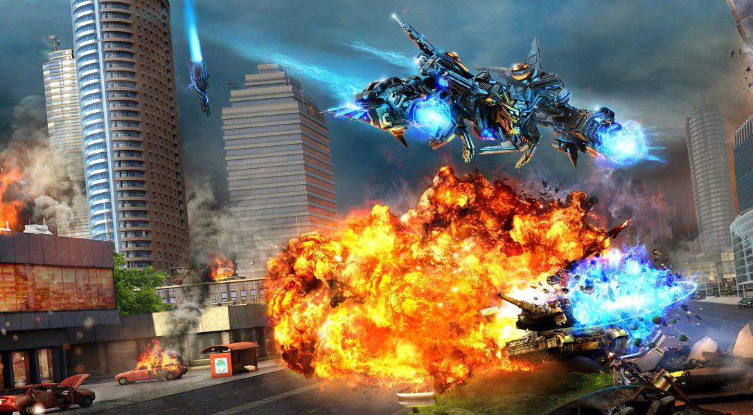 RTS/twin-stick shooter hybrid X-Morph: Defense promises 60fps split-screen co-op on PS4 Pro