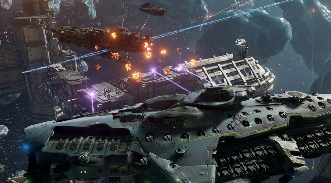 New trailer for PS4 sci-fi battler Dreadnought unleashed as open beta launches today