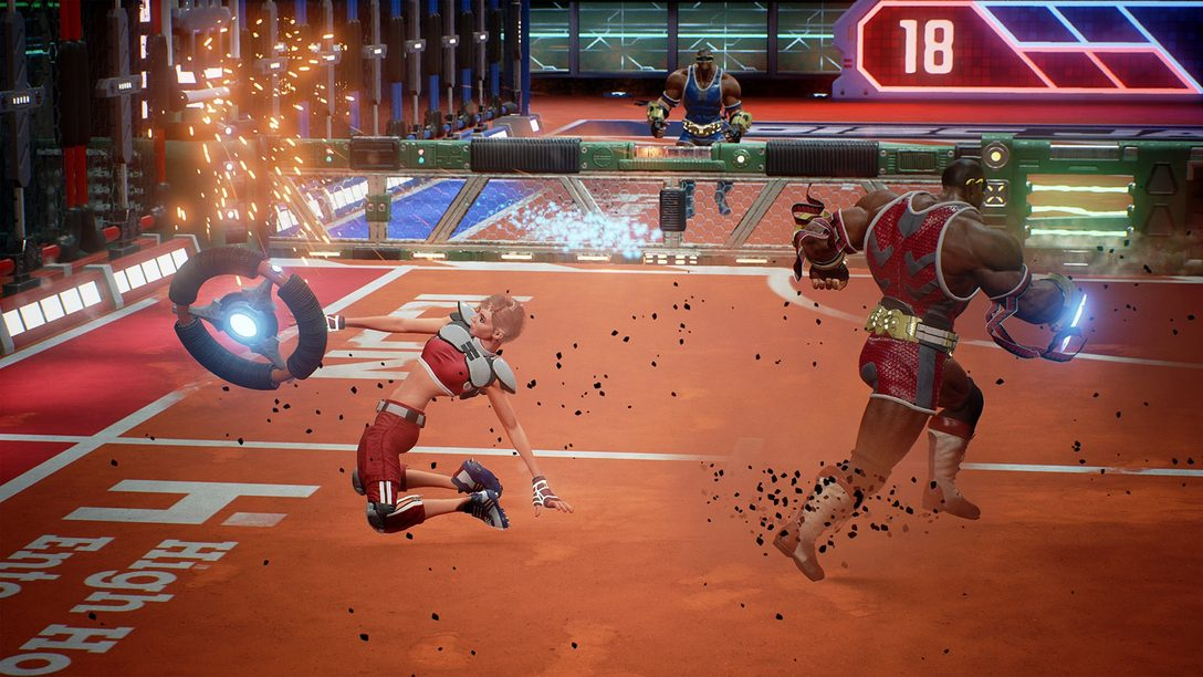 Meet Kahuna, the Newest (and Strongest) Disc Jam Character
