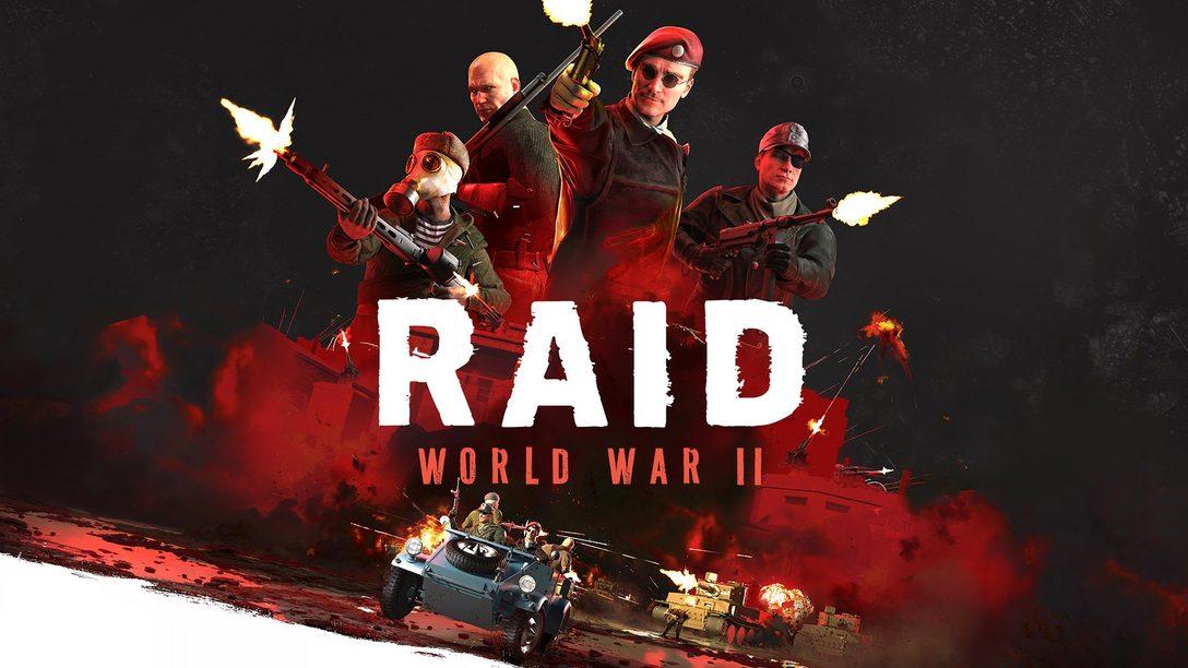RAID: World War II Comes to PS4 October 10