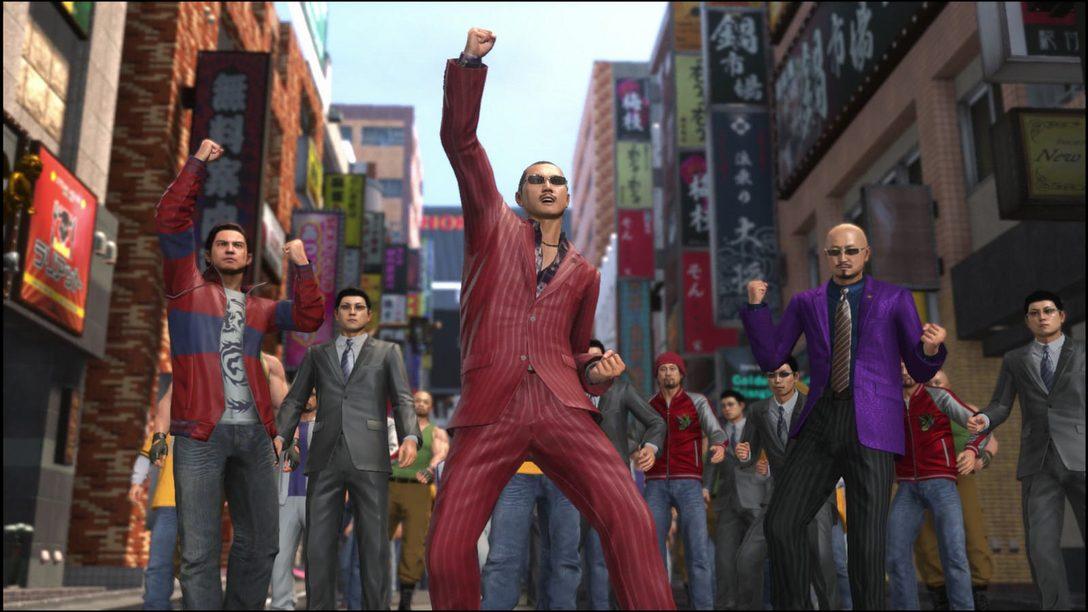 Own the Streets of Kamurocho in Yakuza 6's Clan Creator Minigame