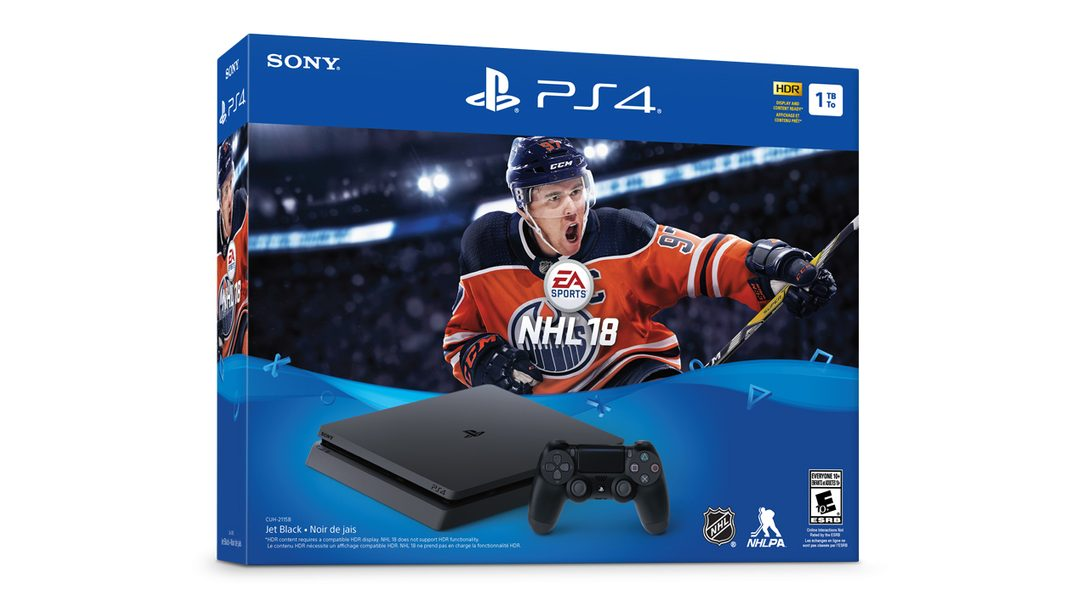 NHL 18 PS4 Bundle Comes to Canada September 15th