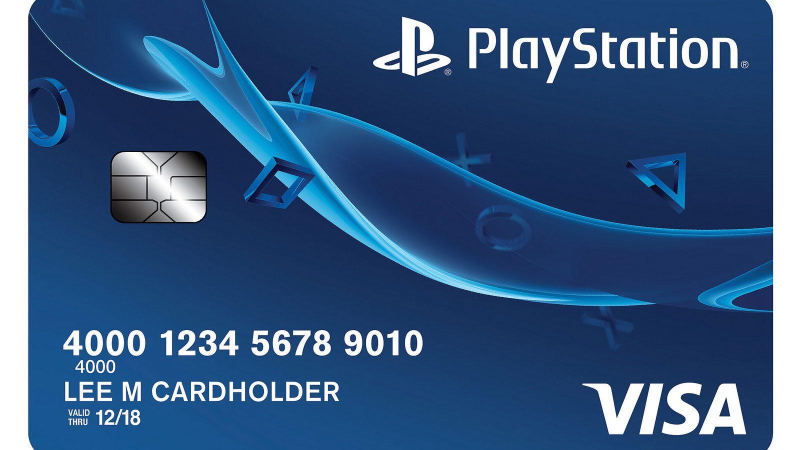Introducing The New Playstation Credit Card Playstation Blog