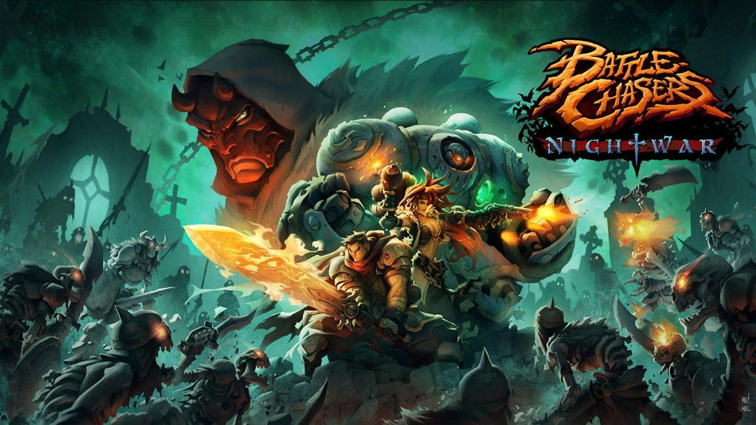 Battle Chasers: Nightwar Out Tomorrow on PS4