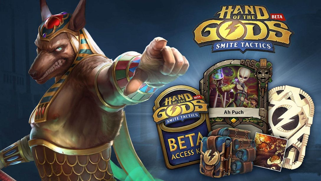 Strategy Card Game Hand of the Gods Enters Closed Beta Today