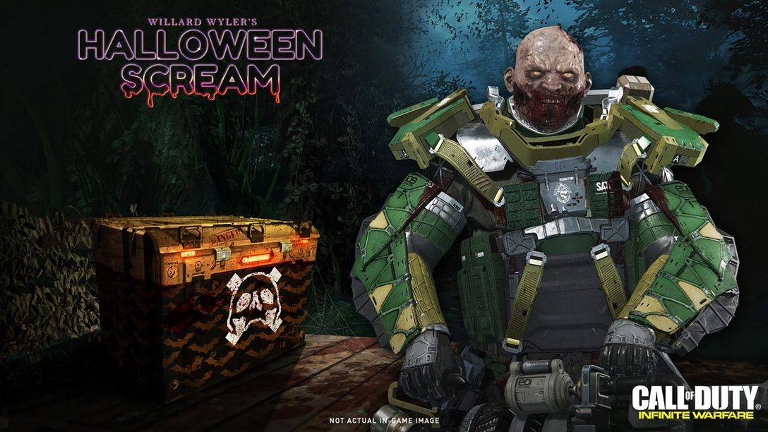 Cod Infinite Warfare Halloween Scream 2020 Call of Duty: Infinite Warfare Halloween Scream Begins Today