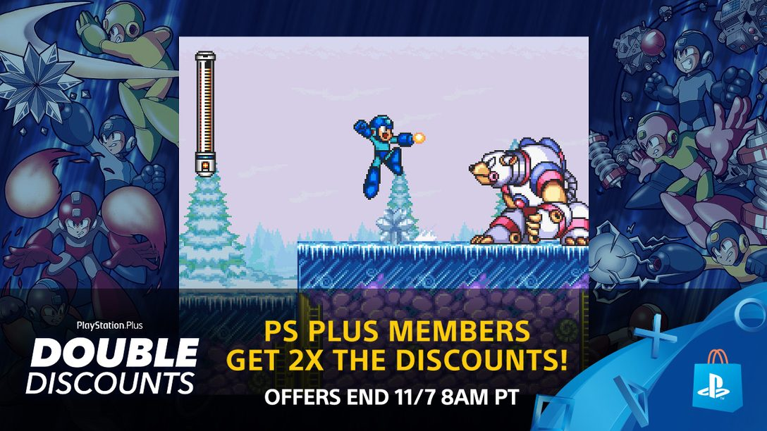 Double Discounts for PS Plus Members Start Now!