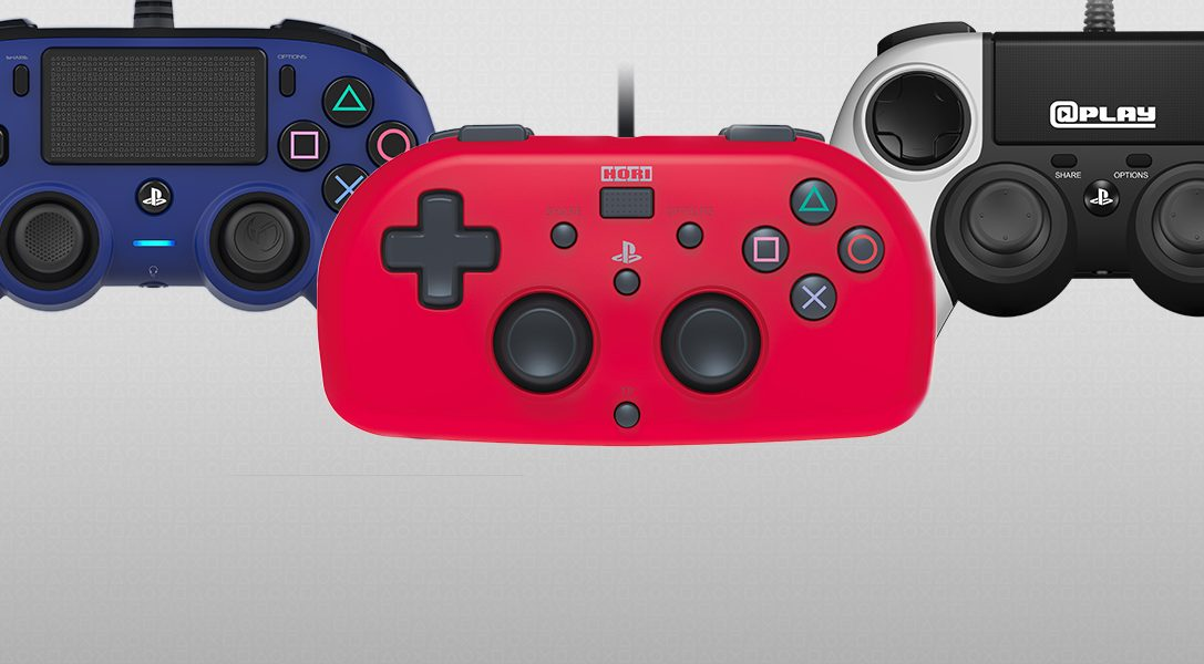 First look at new officially licensed compact controllers and mini gamepad for PS4