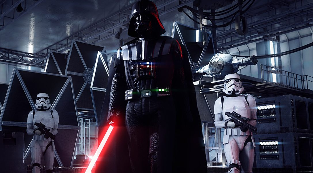 Feel the power of the dark side on PS4 as Darth Vader is unleashed in Star Wars Battlefront II