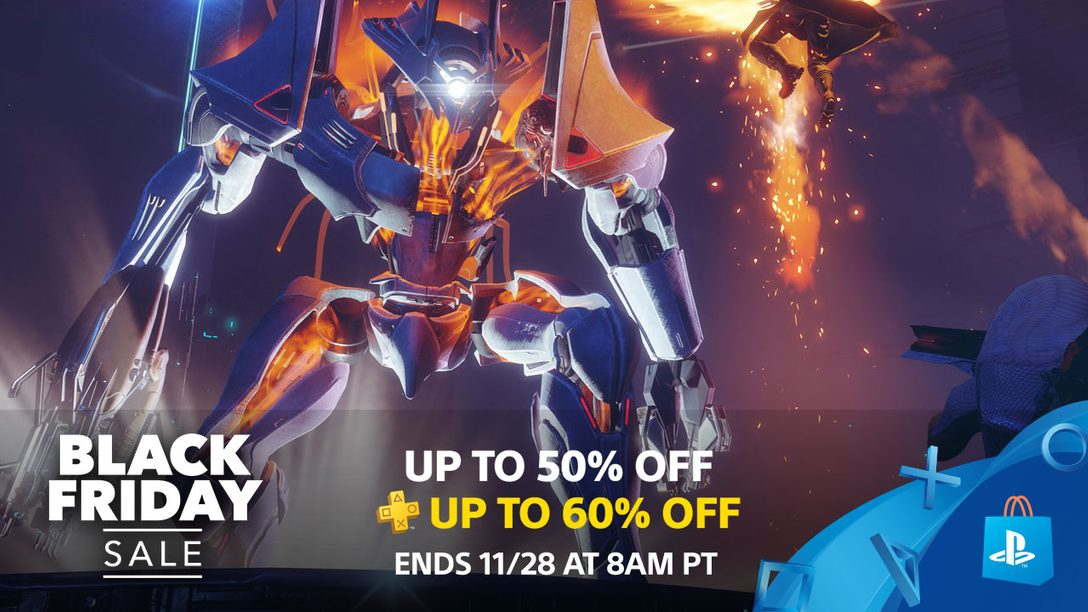 Black Friday Starts Now at PS Store!