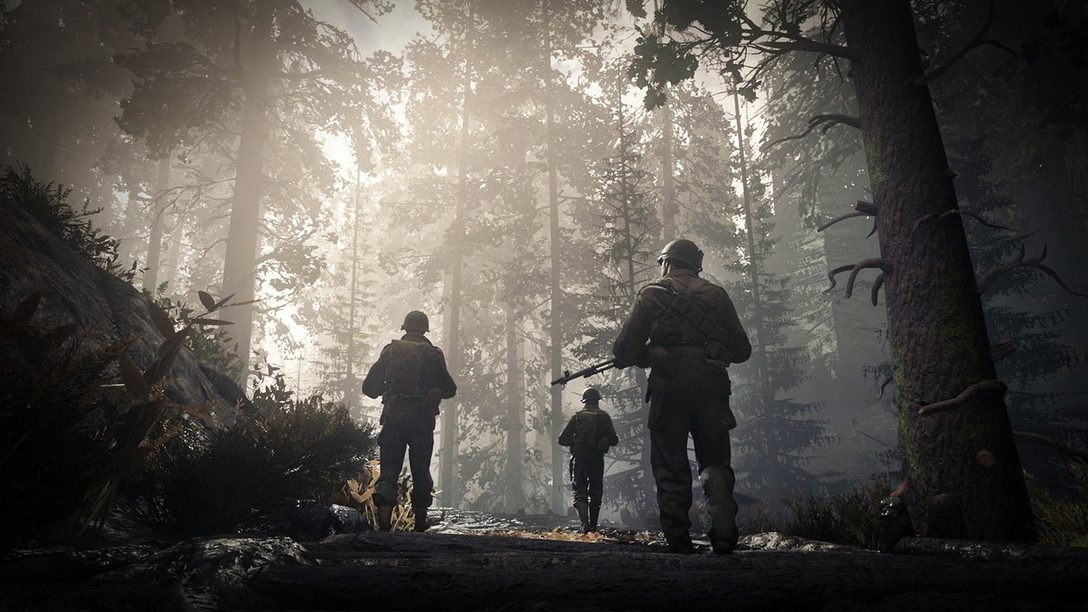 Call of Duty: WWII is Out Now on PS4