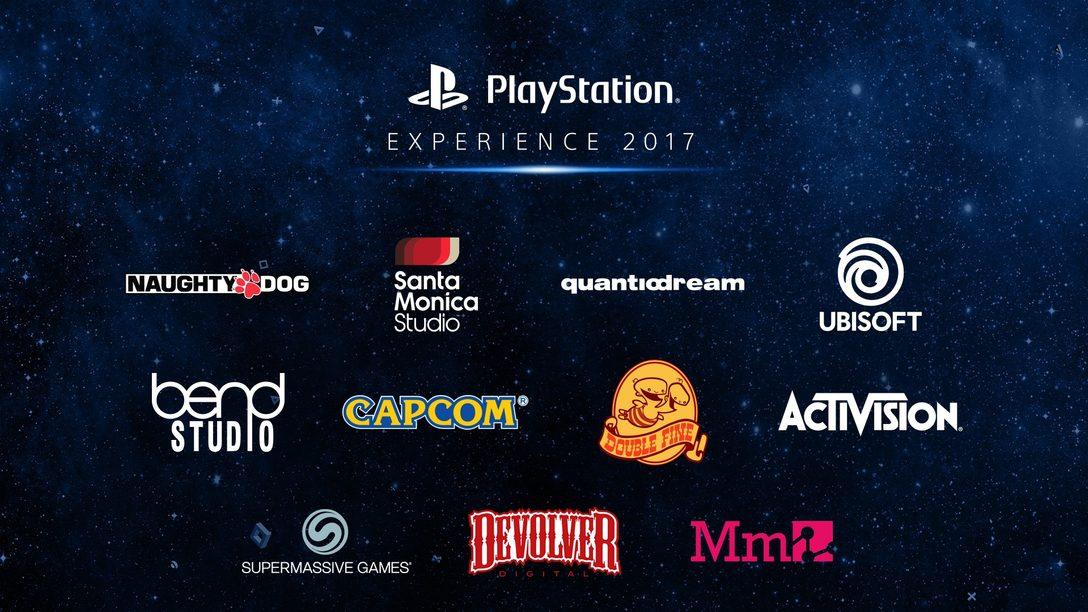 PlayStation Experience 2017: More Than 80 Exhibitors Confirmed