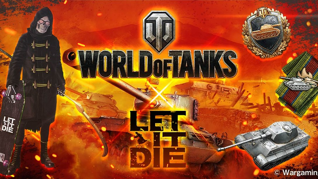Let It Die Celebrates 1st Anniversary, World of Tanks Collaboration Starts Nov. 30