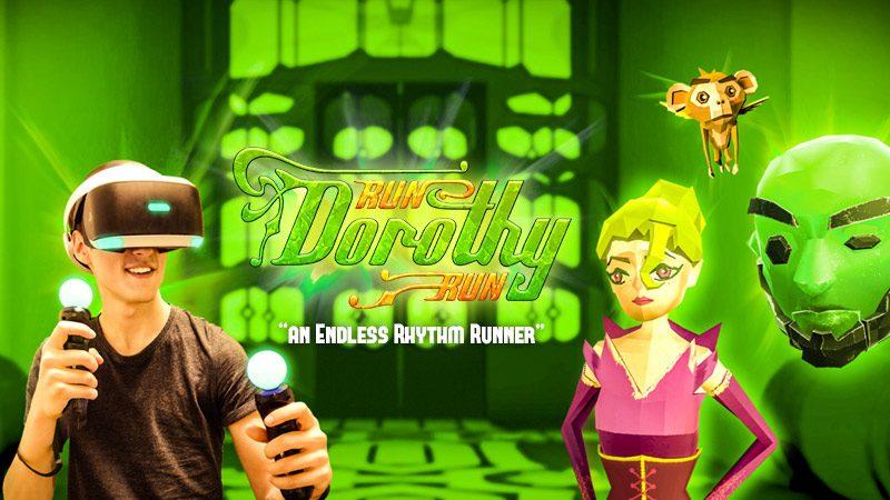 Run Dorothy Run Out Dec. 12: Race Through Oz in PlayStation VR