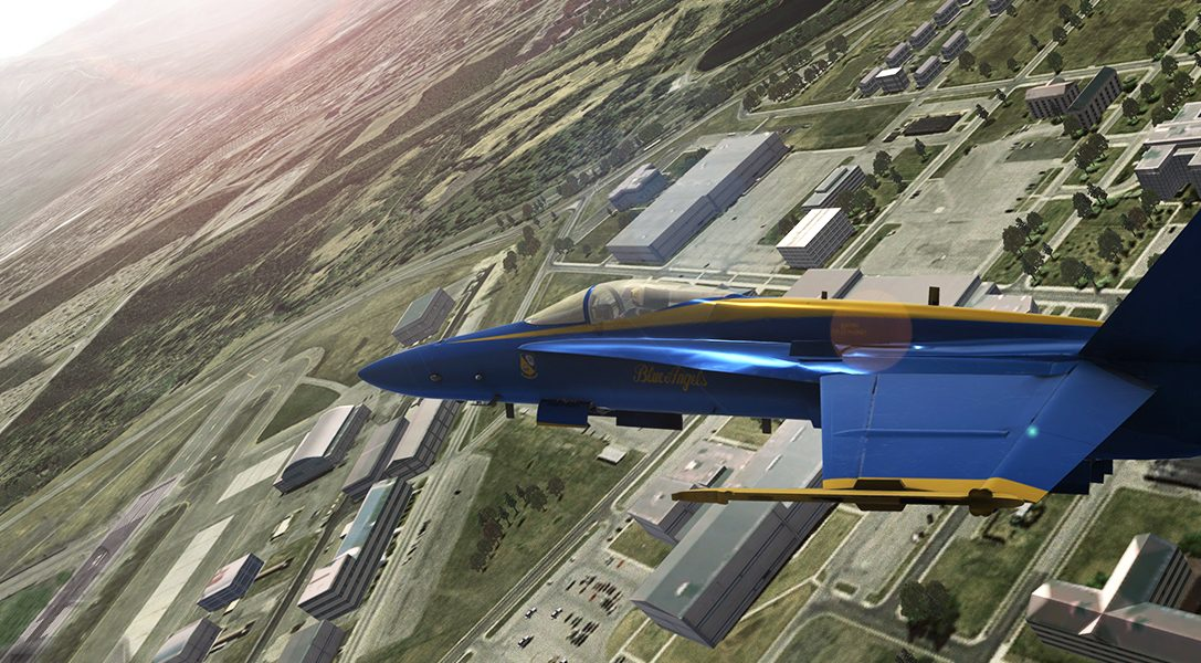 How an aviation enthusiast collaborated with the US Navy to create PS4's Blue Angels Flight Simulator
