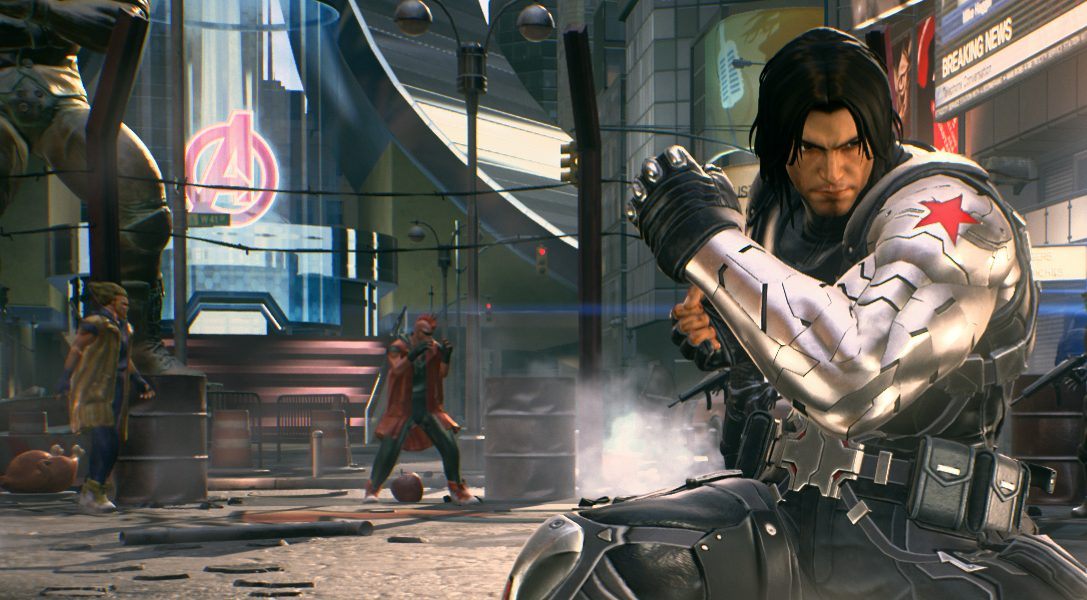 Winter Soldier, Black Widow and Venom join Marvel vs. Capcom: Infinite's roster next month