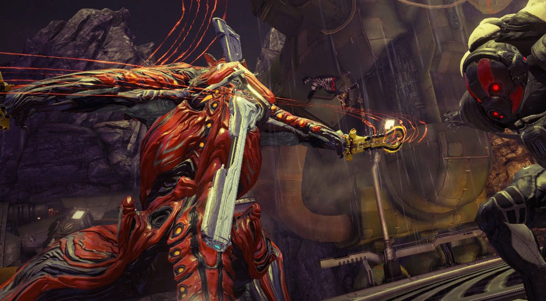 Free-to-play sci-fi shooter Warframe opens the gates to the Plains of Eidolon in today's update