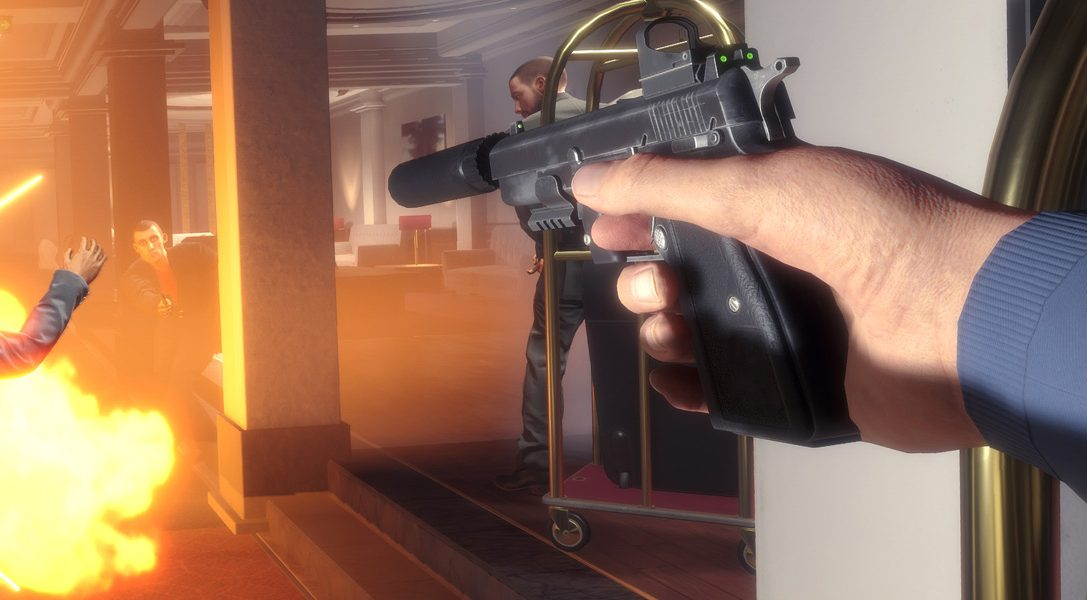 How explosive PS VR action shooter, Blood and Truth is fusing the best of John Wick, James Bond and John McClane