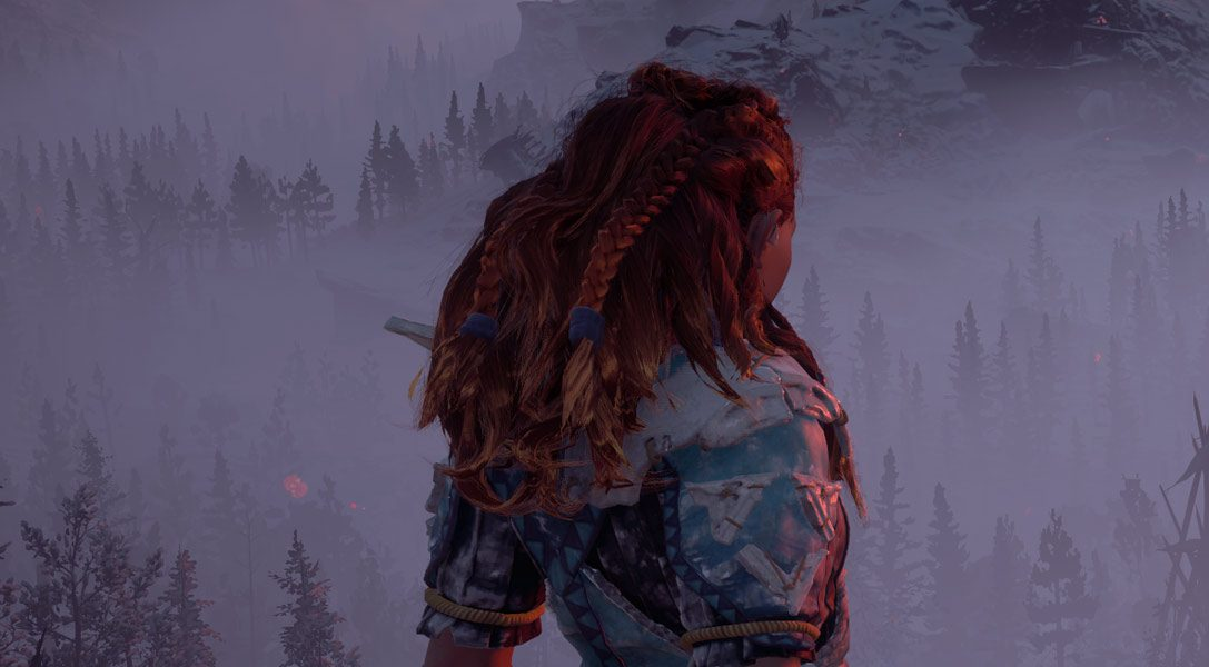 Watch 12 minutes of gameplay from Horizon Zero Dawn: The Frozen Wilds