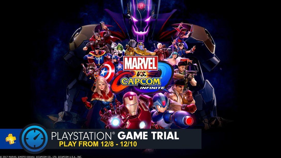 Marvel vs. Capcom Infinite: PS Plus Free Versus Mode Demo This Weekend