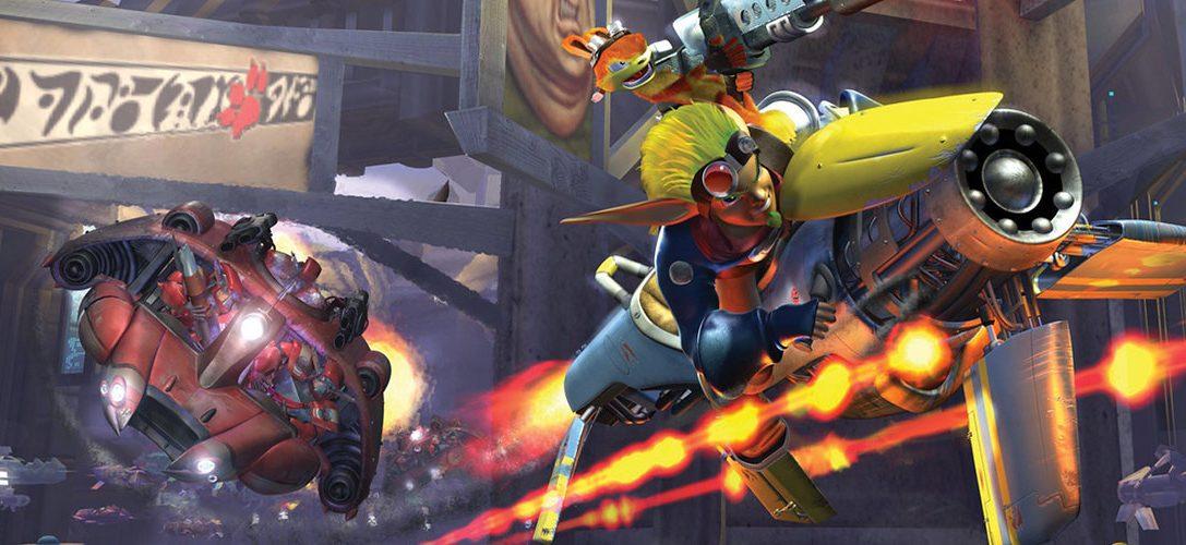 Jak II, Jak 3, and Jak X Combat Racing hit PS4 on 6th December