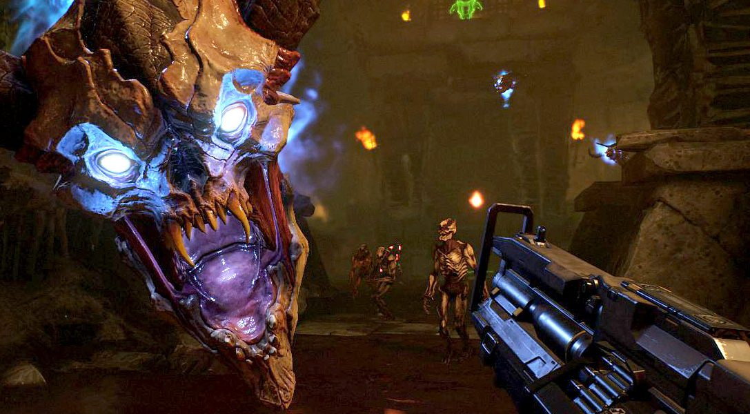 How the PS VR Aim controller helps immerse you in the demon-slaying Doom VFR, out today