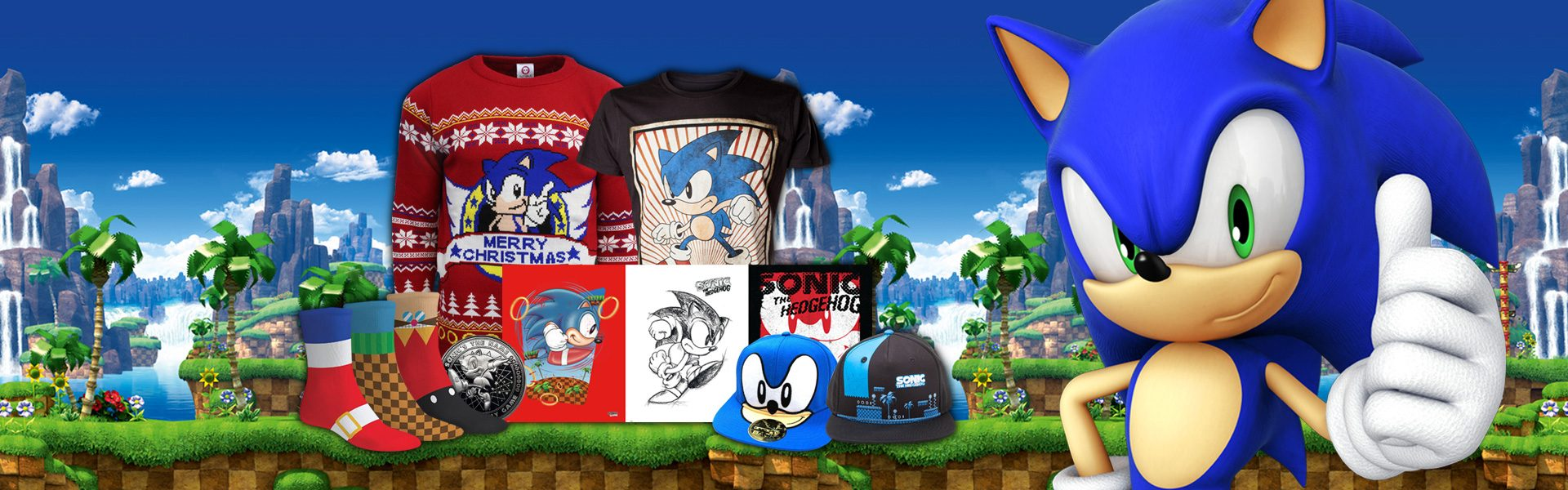 New Sonic The Hedgehog Merchandise Dashes Onto Playstation Gear Playstation Blog