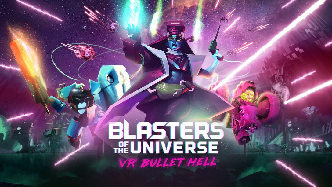 Blasters of the Universe Unleashes Bullet Hell in PlayStation VR February 27