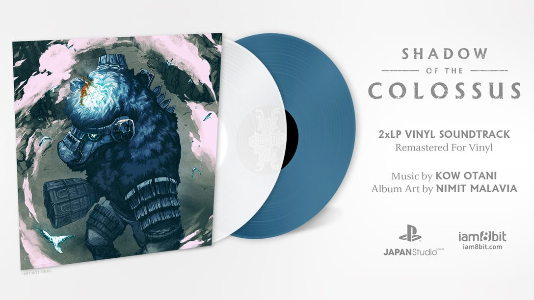 Shadow of the Colossus Composer Interview, iam8bit 2-LP Vinyl Revealed