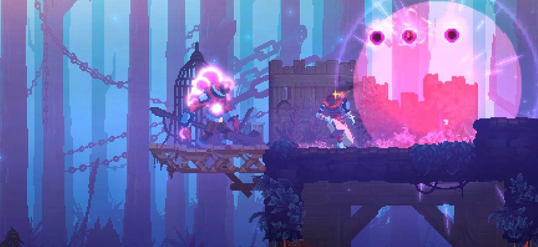 Gorgeous rogue-lite action platformer Dead Cells is battling onto PS4 this year