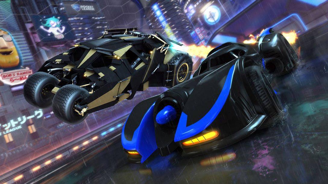 Rocket League: DC Super Heroes DLC Pack Launches March 5