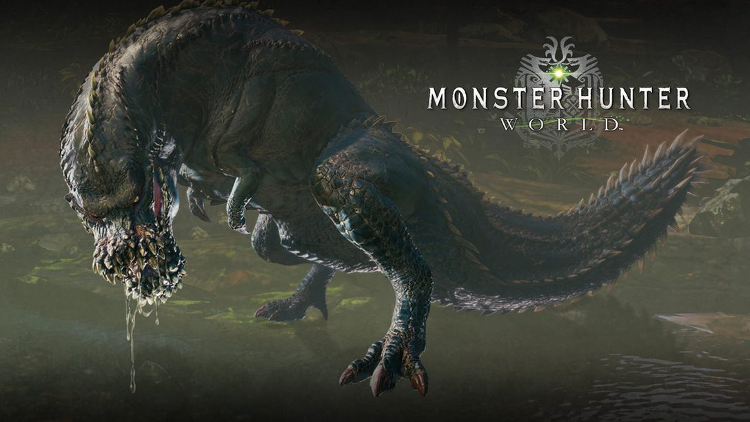 Face the Fearsome Deviljho in Monster Hunter: World's Latest Update, Now Live