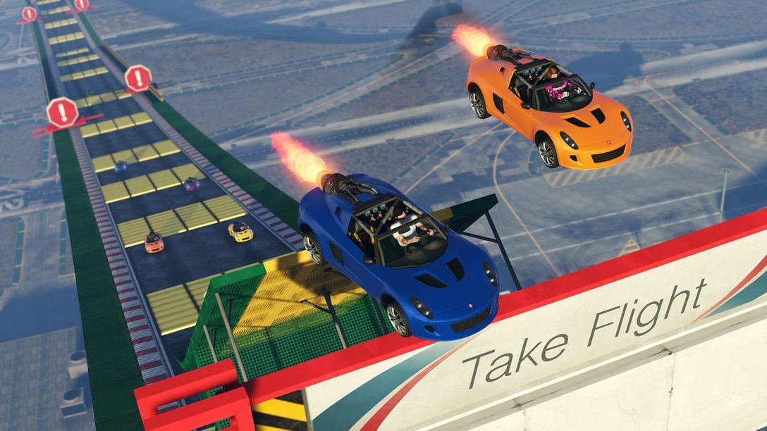 GTA Online: Introducing the Hijak Ruston and New Stunt Race Props