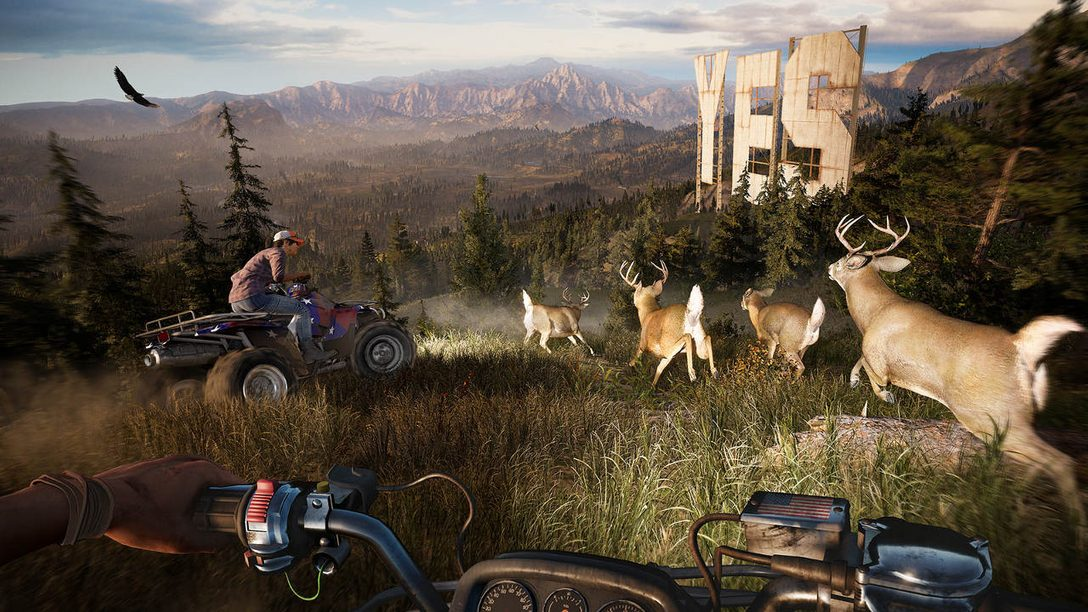 The Procedural World Generation of Far Cry 5